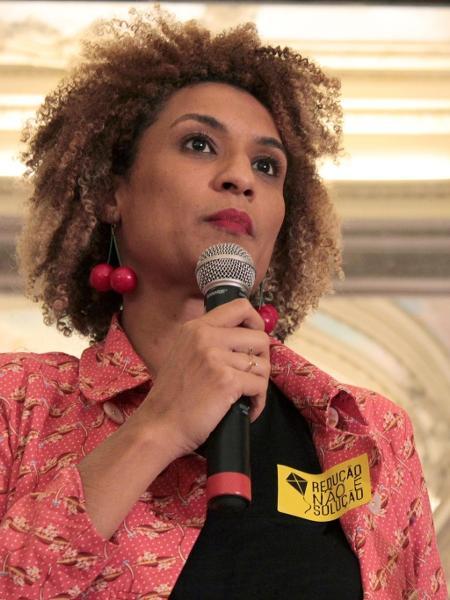 A vereadora eleita pelo PSOL-RJ Marielle Franco foi executada em 2018 junto ao seu motorista Anderson Gomes - Reprodução / Internet