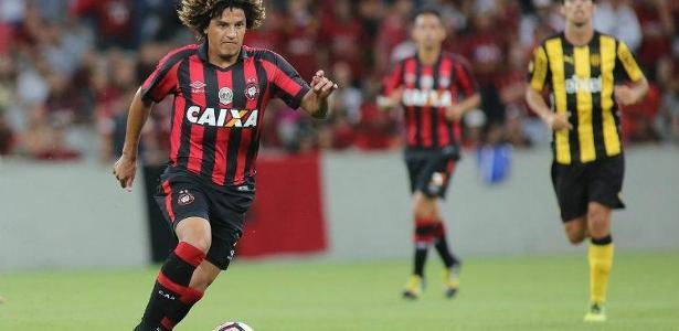 Atlético liberou Gedoz para negociar saída: futebol brasileiro, só vendido