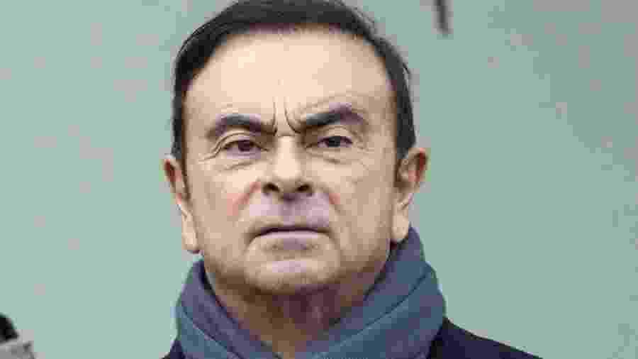 Ex-executivo da Nissan, Carlos Ghosn - Getty Images