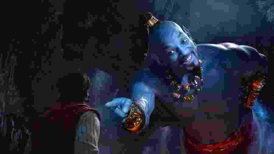 """Quais são os melhores pontos para fazer xixi em """"Aladdin""""? - Divulgação"""