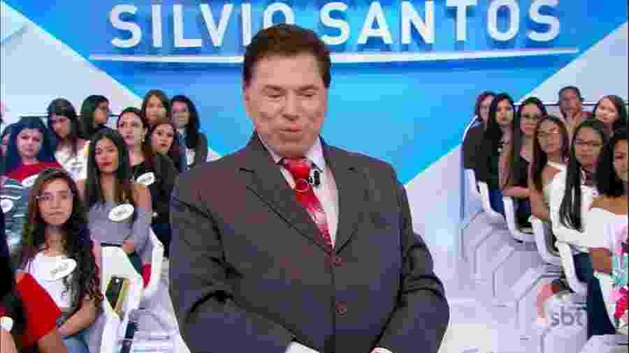 """Entre outras reprises, o SBT está apresentando em janeiros edições antigas do """"Programa Silvio Santos"""" - Reprodução/SBT"""