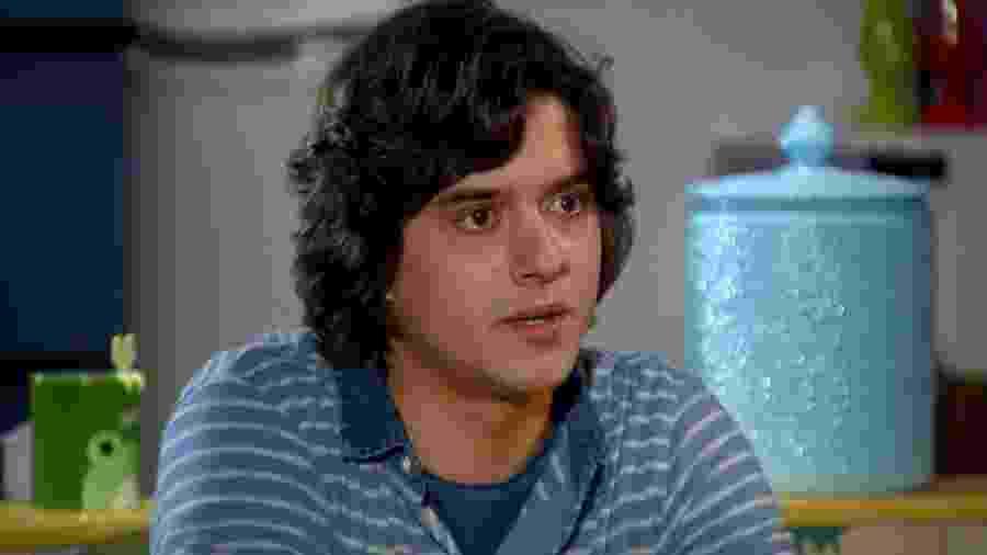 Júnior (Guilherme Boury) em cena de Chiquititas (Reprodução / SBT) - Reprodução / Internet