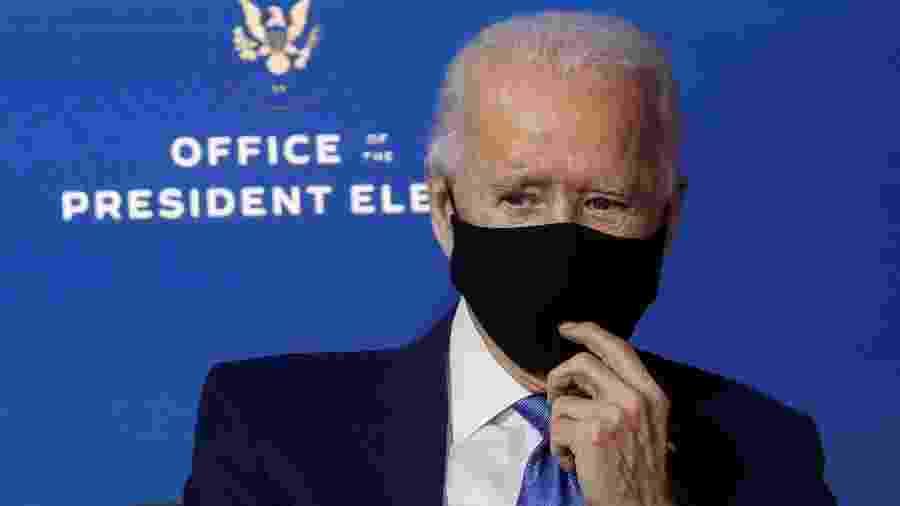 """Biden quer posse """"segura"""" e reduzida, sem aglomerações - Leah Millis/Reuters"""