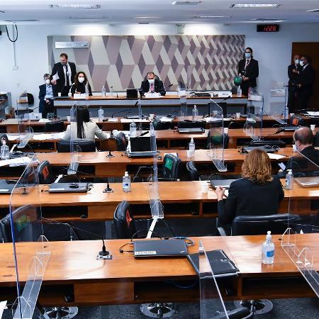 CPI da Covid no Senado  - Jefferson Rudy/Agência Senado