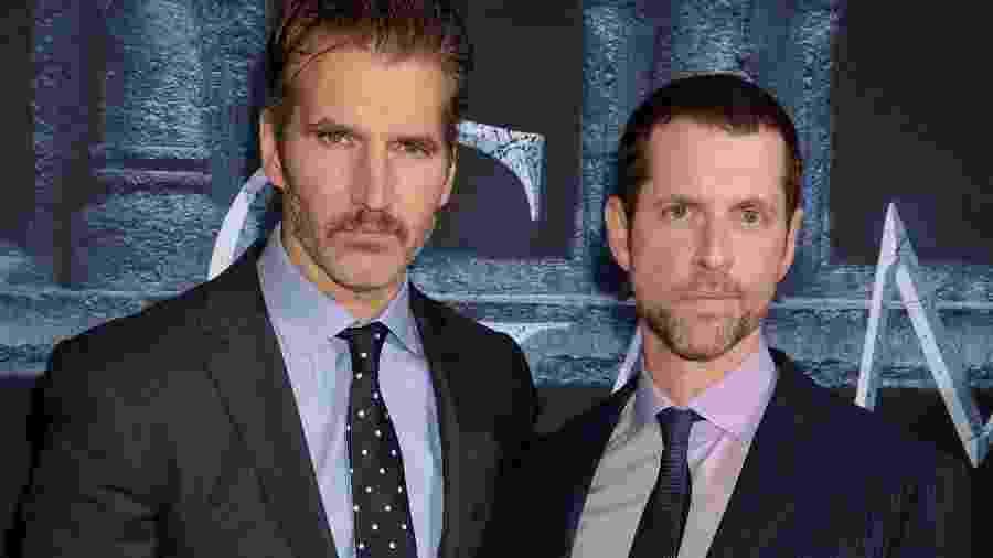 Os diretores David Benioff e D.B. Weiss  - Jeff Kravitz/FilmMagic