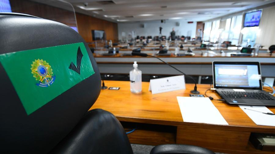 CPI da Covid pode funcionar ao menos até o fim de outubro -  Marcos Oliveira/Agência Senado