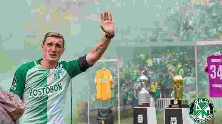 Armani se tornou um dos maiores ídolos da história do Atlético Nacional, com 12 títulos conquistados - false - false