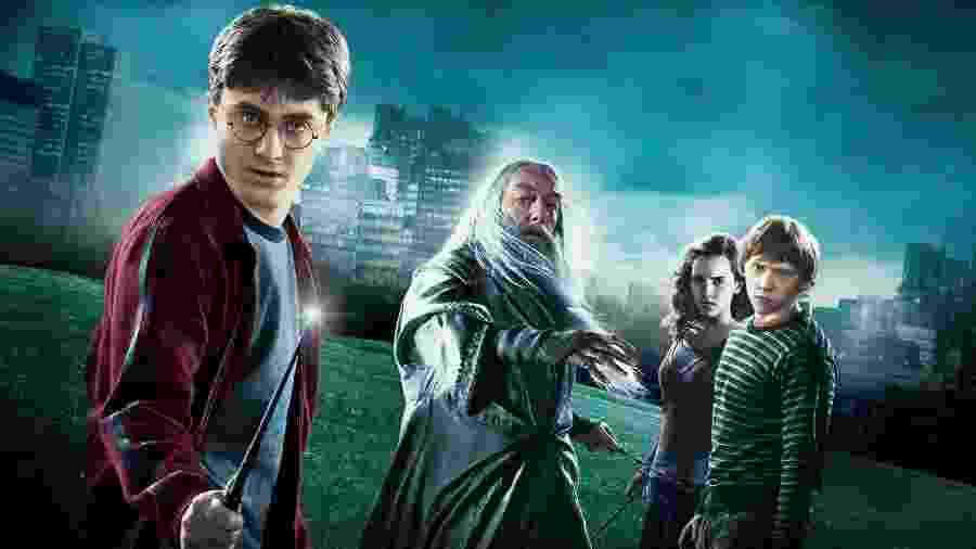 Imagem da série Harry Potter -