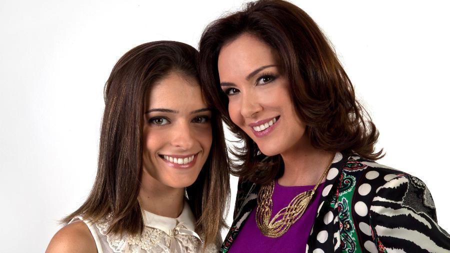 Lisandra Cortez e Virgínia Nowick como Maria Cecília e Eduarda em Chiquititas (Lourival Ribeiro / SBT) - Reprodução / Internet
