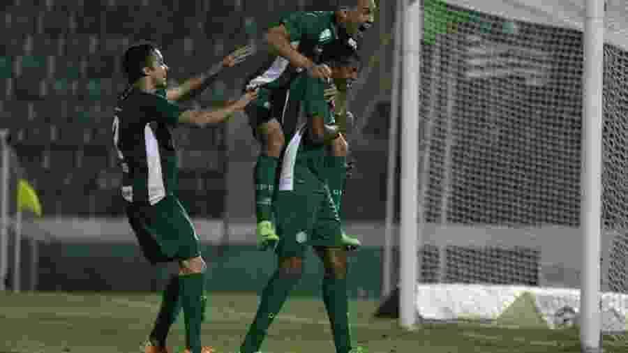 Guarani conseguiu um empate importante diante do Goiás - Luciano Claudino/Código 19/Estadão Conteúdo