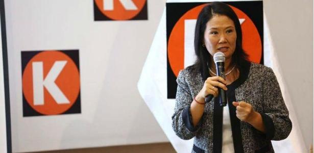 Keiko Fujimori, líder da oposição no Peru - Foto: Reprodução/Facebook