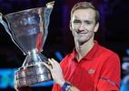 Medvedev bate Coric e é campeão do ATP 250 de São Petersburgo; Tsonga faz história na França - (Sem crédito)