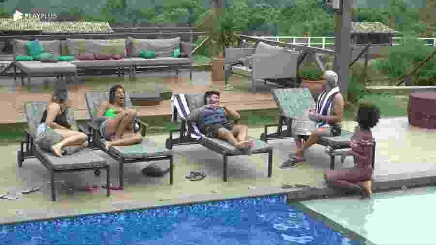 Peões em A Fazenda 11 (Foto: Reprodução/ Record TV)  - Peões em A Fazenda 11 (Foto: Reprodução/ Record TV)