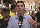 Vídeo: Repórter da Globo responde ao vivo homem que xinga a emissora - Foto: YouTube/Reprodução