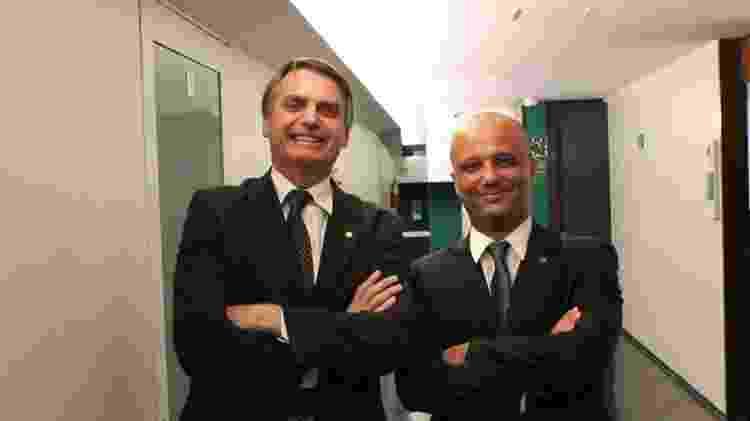 Major Vitor Hugo tem se aproximado de Bolsonaro desde o governo de transição - Reprodução/Facebook - Reprodução/Facebook