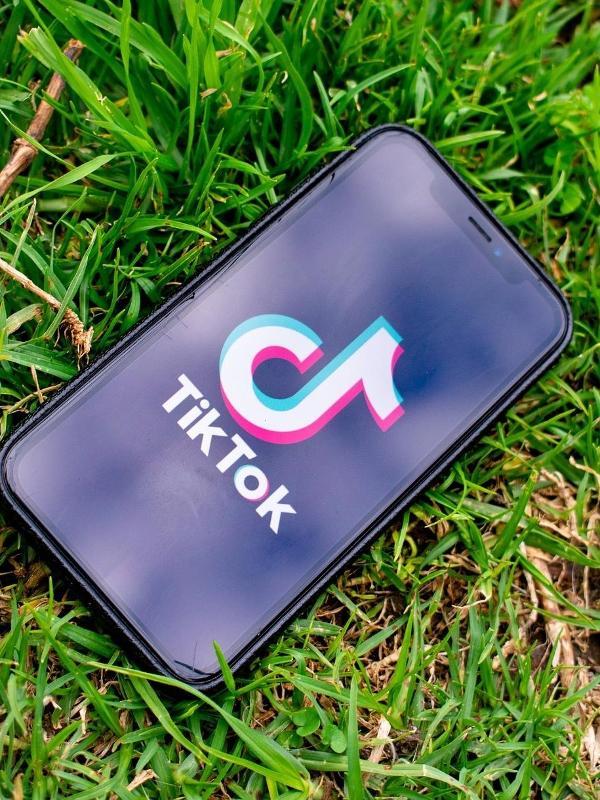 A rede social TikTok