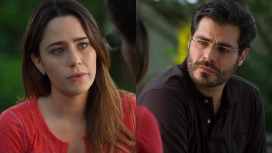 Ana (Fernanda Vasconcellos) e Lúcio (Thiago Lacerda) em cena de A Vida da Gente (Reprodução: Globo) - Reprodução / Internet