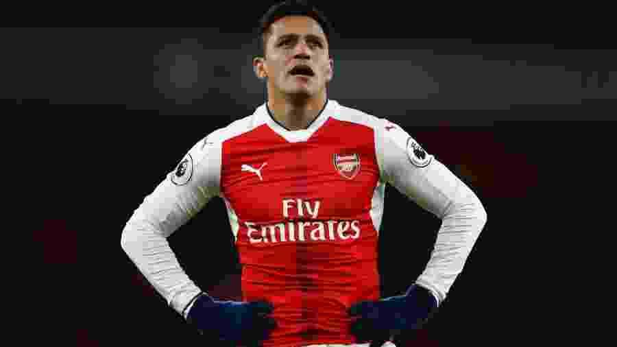 Alexis Sánchez tem contrato com o Arsenal apenas até junho de 2018 - false