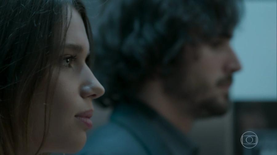 Cibele (Bruna Linzmeyer) e Ruy (Fiuk) em A Força do Querer (Reprodução/TV Globo). - Reprodução / Internet