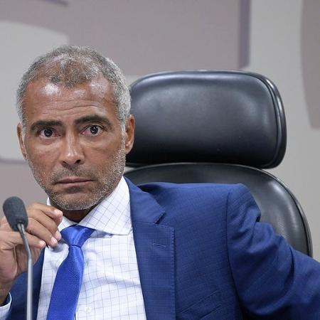 Senador Romário (Podemos-RJ)  -  Pedro França/Agência Senado