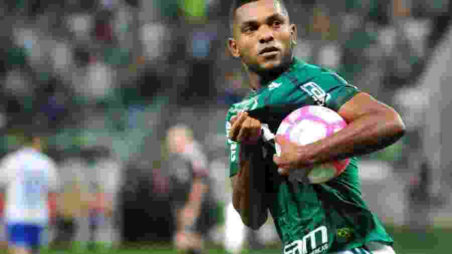Borja novamente será titular do Palmeiras sob o comando de Alberto Valentim - Bruno Ulivieri/Raw Image/Estadão Conteúdo