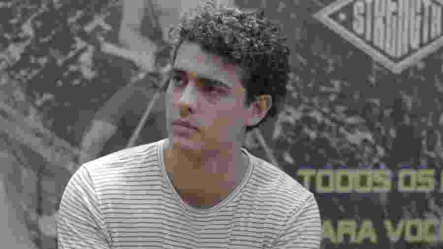 Guga (Pedro Alves) em Malhação (Reprodução/TV Globo). - Guga (Pedro Alves) em Malhação (Reprodução/TV Globo).