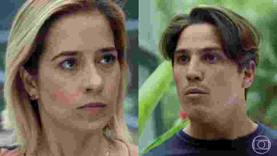Lígia (Paloma Duarte) e Rui (Romulo Arantes Neto) de Malhação - Toda Forma de Amar (Reprodução/TV Globo)  - Reprodução / Internet
