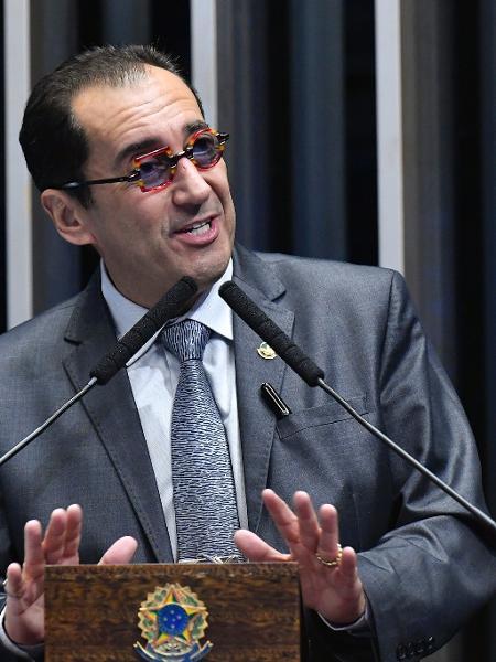 Senador Jorge Kajuru (Cidadania-GO)  - Geraldo Magela/Agência Senado