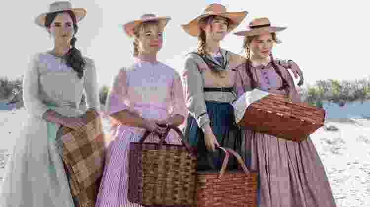 Alguns avaliadores da temporada de premiação pularam as exibições de 'Adoráveis Mulheres', pensando que não era para eles - Reprodução / Internet
