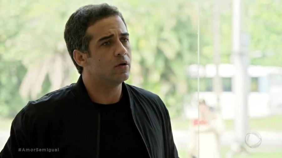 Rafael Sardão como Miguel em Amor Sem Igual (Reprodução / Record TV) - Reprodução / Record TV