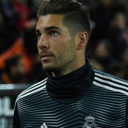 Luca Zidane fez oito jogos como titular do Rayo Vallecano - Getty Images