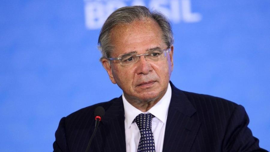 Guedes rebate críticas e diz que governo manteve o rumo mesmo no caos -                                 MARCELO CAMARGO/AGêNCIA BRASIL