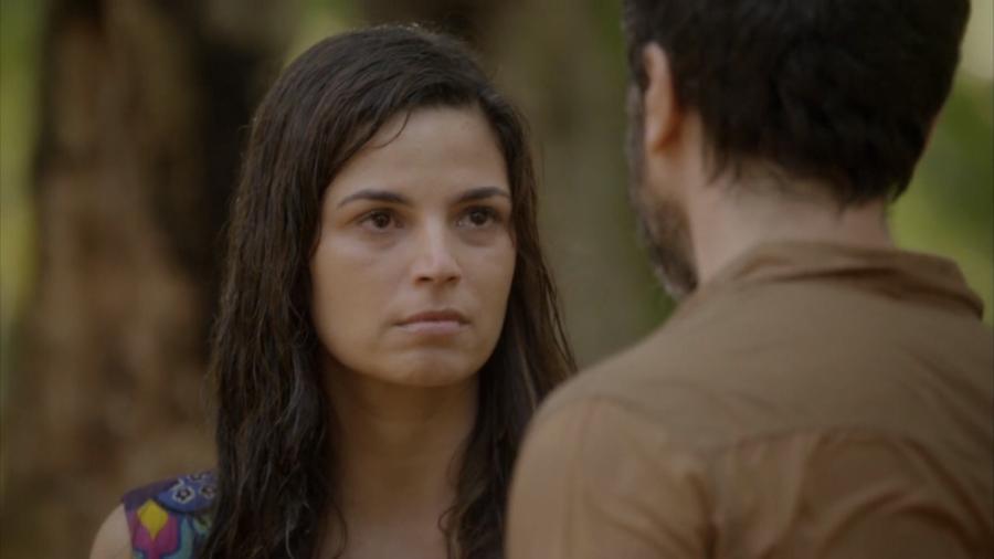 Gael (Eriberto Leão) e Dandara (Emanuelle Araújo) em Malhação - Sonhos (Reprodução / Globo) - Reprodução / Internet