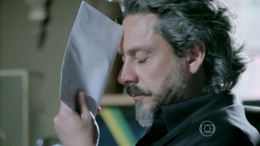 Alexandre Nero interpreta José Alfredo em Império (Reprodução: Globo) - Reprodução / Internet