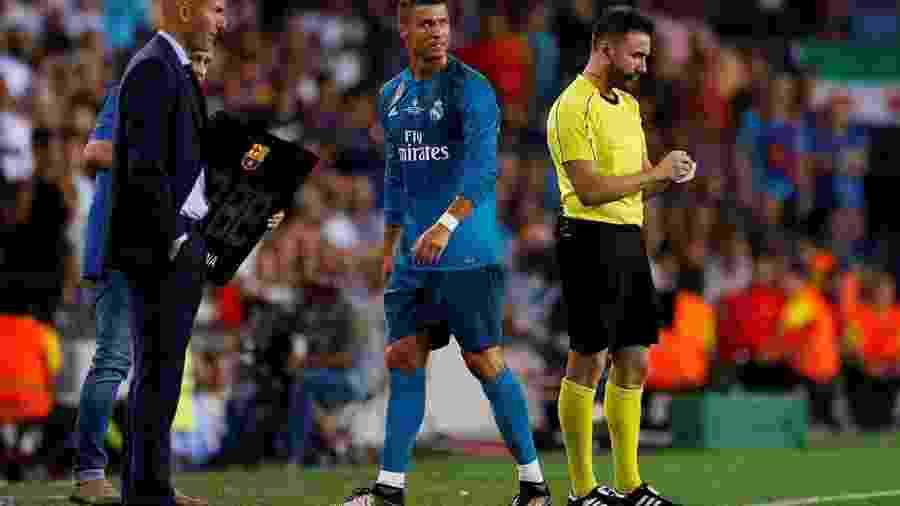 Zidane disse que não vê Real sem Cristiano Ronaldo - Juan Medina/Reuters