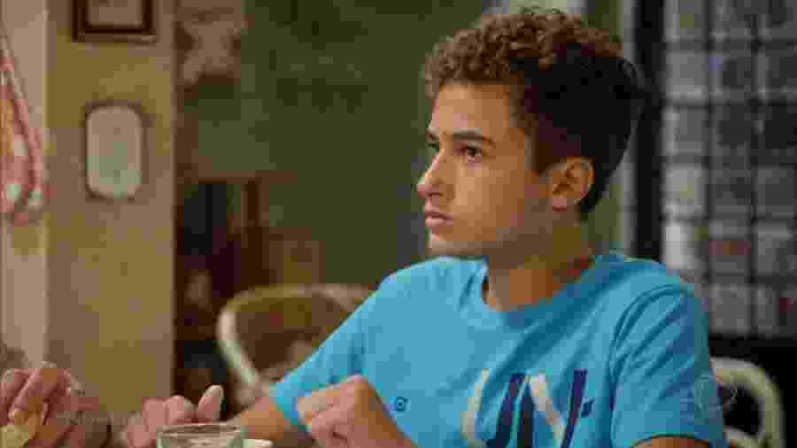 Fernando (Guilherme Seta) em Topíssima (Reprodução/Record TV). - Fernando (Guilherme Seta) em Topíssima (Reprodução/Record TV).