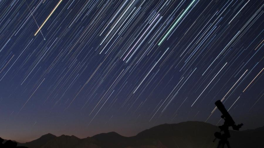 Chuva de meteoros -