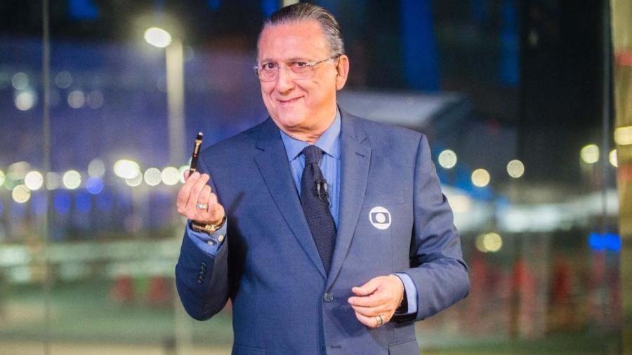 Galvão Bueno, principal nome do Esporte da Globo: estará na transmissão dos Jogos Olímpicos de Tóquio em julho - Divulgação/Globo