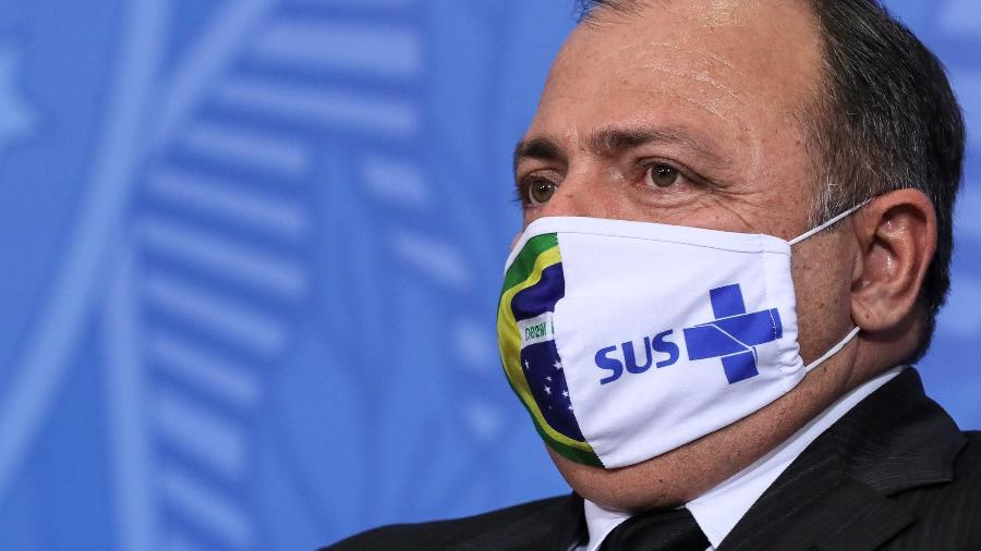 Depoimento do ex-ministro Pazuello estava marcado para o dia 4, mas foi adiado após ele alegar contato com dois coronéis que testaram positivo para a covid-19 - Isac Nóbrega/PR