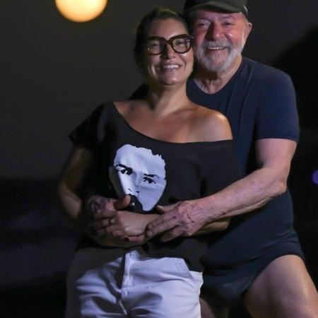 Clique viralizou após Lula aparecer de sunga e chamar atenção com atributo físico - Reprodução/Twitter/@JanjaLula