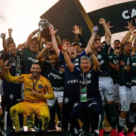 Libertadores elevou renda de Palmeiras com TV e prêmios - GettyImages