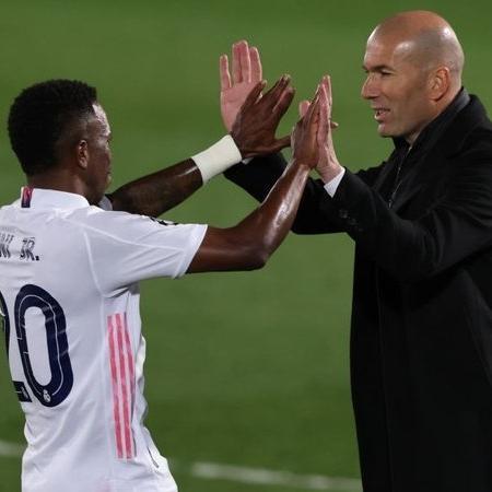 Zidane tem depositado confiança no futebol de Vinicius Jr - GettyImages