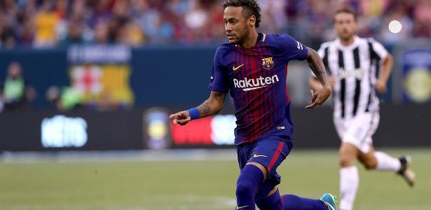 Neymar fez dois na vitória do Barcelona sobre a Juventus