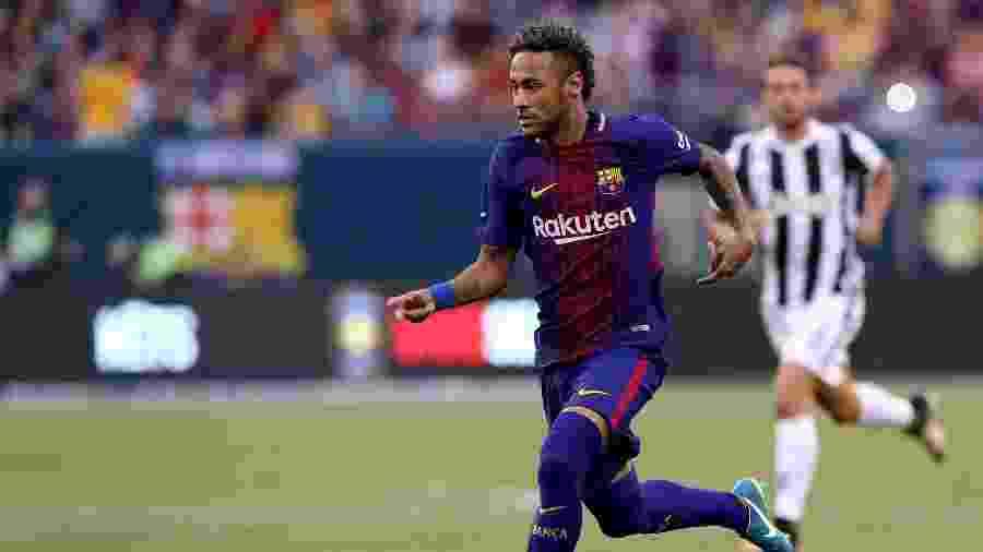 Neymar fez dois na vitória do Barcelona sobre a Juventus -