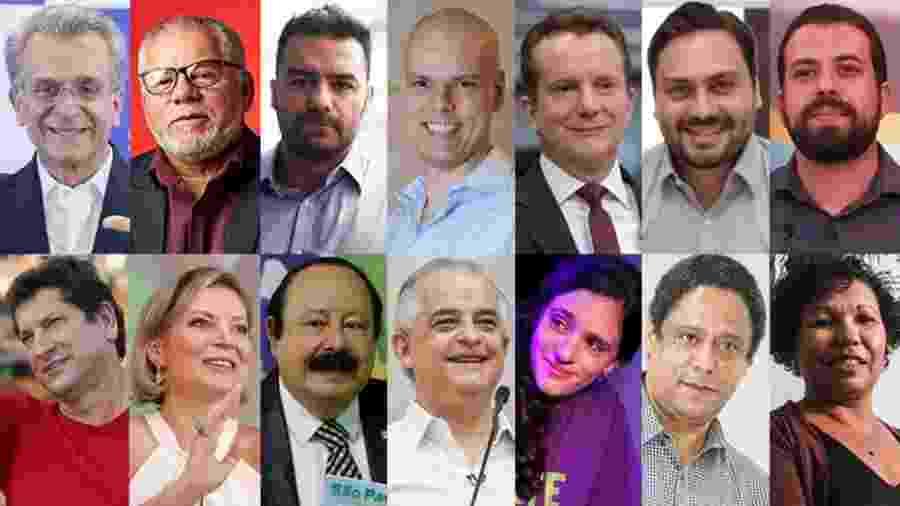 Candidatos à prefeitura de São Paulo na eleição de 2020 - Estadão Conteúdo e divulgação