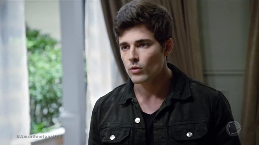 Miguel Coelho é Antônio Júnior em Amor Sem Igual (Foto: Reprodução/Record TV) - Reprodução/Record TV