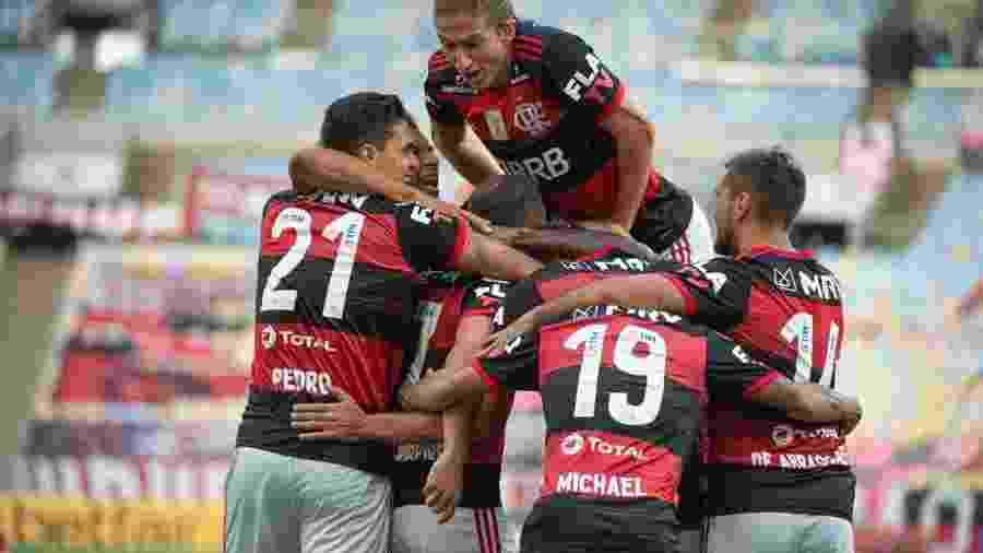 Jogadores do Flamengo passarão por nova bateria de testes - Alexandre Vidal/CRF