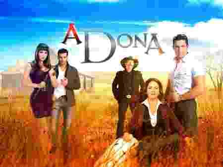 Novela A Dona do SBT (Foto: Novela A Dona do SBT)