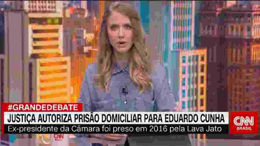 Gabriela Prioli, que sugeriu saída da CNN Brasil (Reprodução) - Reprodução / Internet