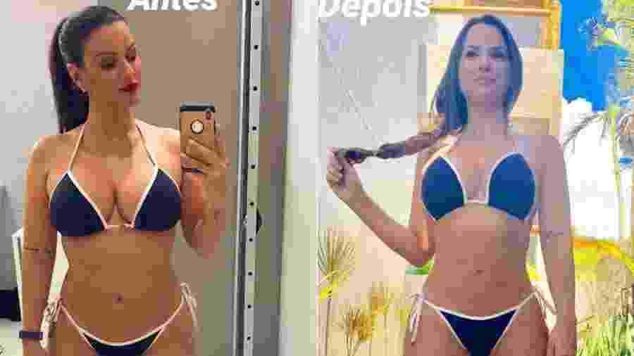 Carol Dias conseguiu eliminar 5 quilos em um mês - Foto: Reprodução/ Instagram